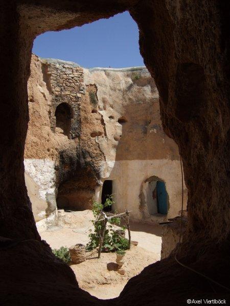 Höhlenwohnung in Matmata