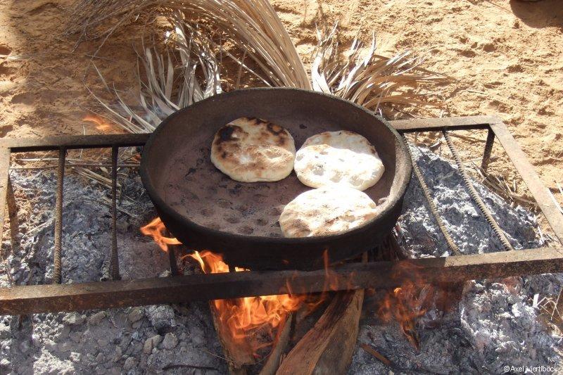 Bäckerei in der Wüste