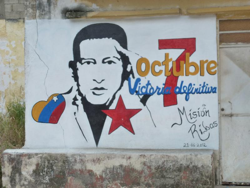 Wahlwerbung Chavez